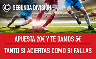 sportium Promocion Liga123 24-25 marzo