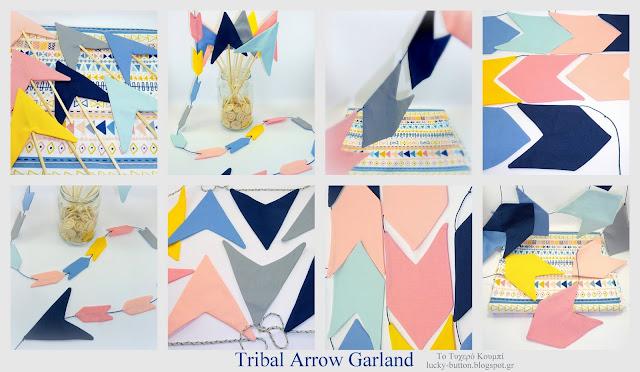 Tribal Arrow Garland