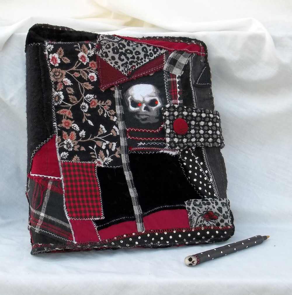 All Things Crafty: Crazy Quilt Binder Cover