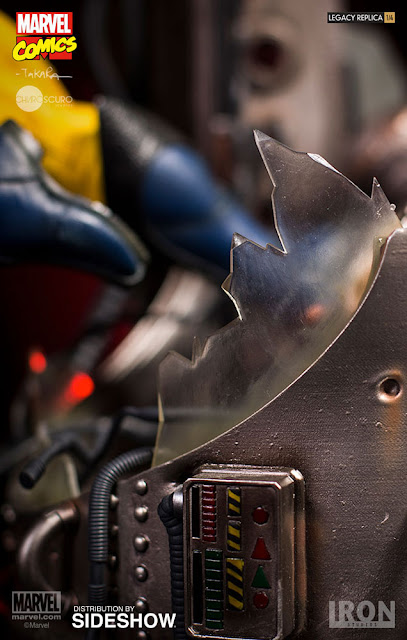 osw.zone Iron Studios 1/4 scale Wolverine 18-inch tall statue - Wolverine goes berserker rage!
