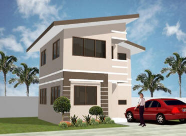 Collection 50 beautiful narrow house design for a 2 story for Two storey house design philippines