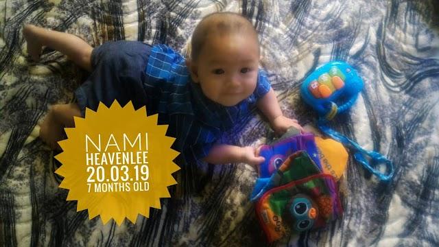 Nami Heavenlee    Jurnal 7 bulan - tumbuh gigi pertama!