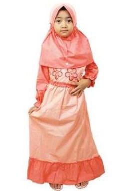 Baju Muslim Anak Berkarakter sederhana