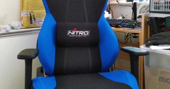 Nitro Concepts S300 Gaming Racing Seat Chair Gadget