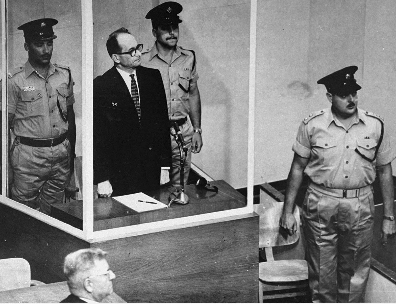 Eichmann was found guilty on all of the charges, and was executed by hanging on 1 June 1962.