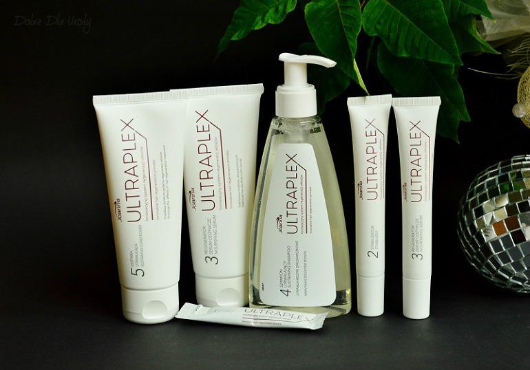 Joanna Ultraplex innowacyjny system do regeneracji włosów - kompleksowy zestaw