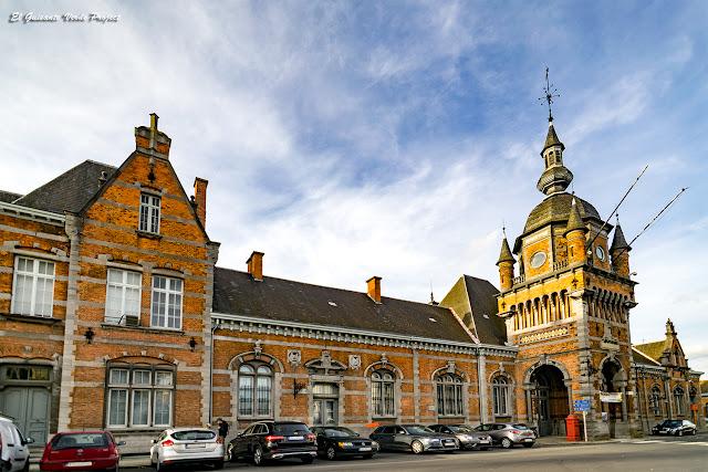 Antigua Estación de Tren - Oudenaarde por El Guisante Verde Project