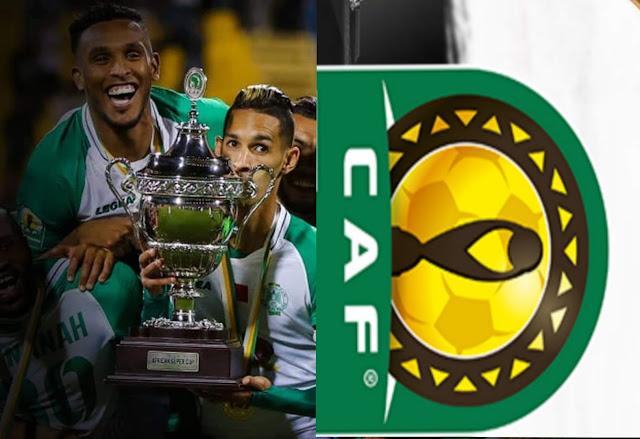 le Raja Casablanca remporte la Supercoupe d'Afrique 2019 et CAF a demandé au Raja de retourner ladite Super Coupe