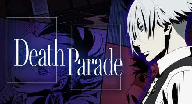 kamu akan memainkan sebuah game yang menjadikan nyawa sebagai  Sinopsis Anime : Death Parade