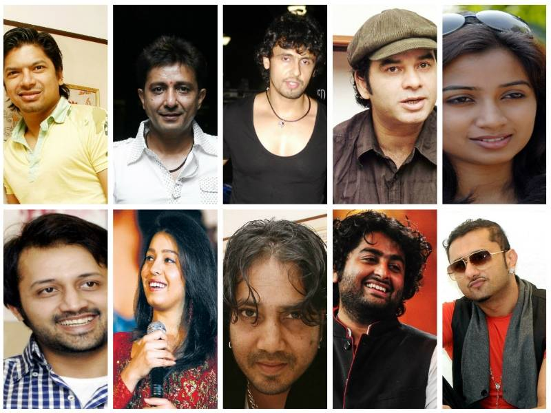 Top 10 Bollywood Paid Singer In 2016 With Photo, Best New List Of Top Ten Bollywood Singer Name