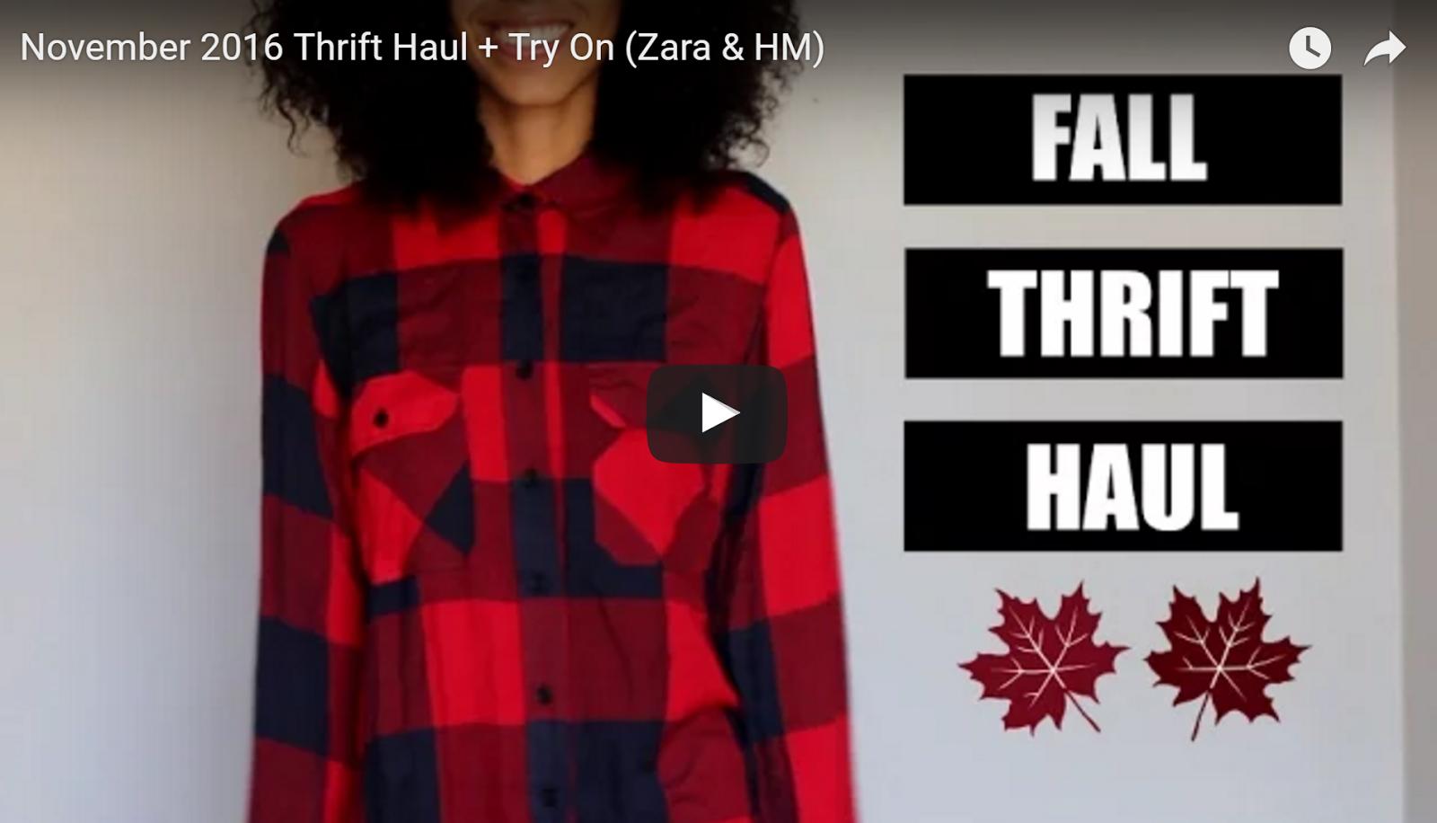 Fall Thrift Haul