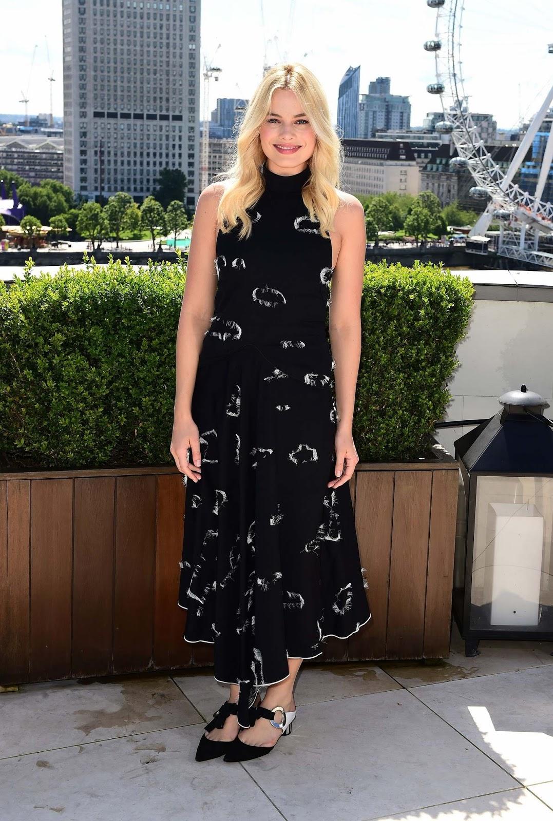 Margot Robbie promotes 'The Legend of Tarzan' in London