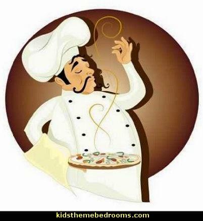 fat chef decorations - fat chef bistro decorating ideas - fat chef kitchen decor - Italian fat chef - French fat chef - Paris Cafe style - waiters - fun kitchen decor - French Country Kitchen decor - Table Art Decor - Kitchen accessories
