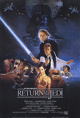 Poster de Starwars Episodio VI