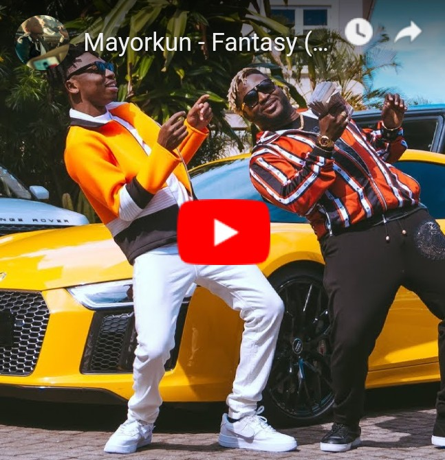 Mayorkun – Fantasy [Video]