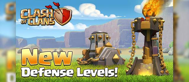 Update !! Telah Hadir Level Terbaru Mortar dan Inferno Tower