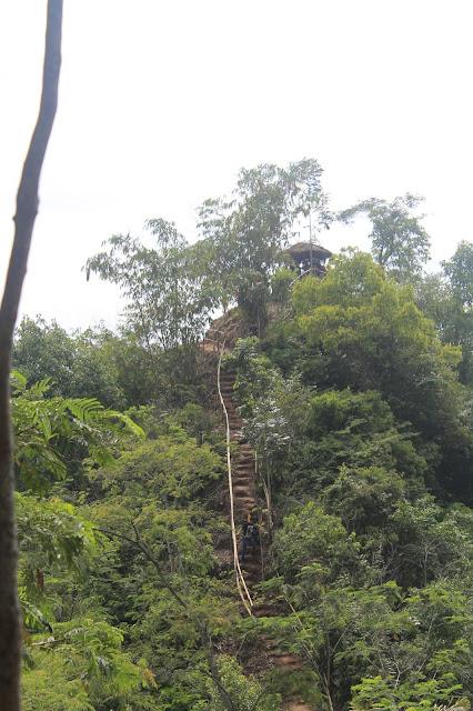 foto jalur ke puncak igir wringin
