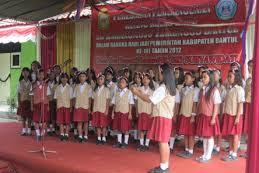 Profil Perpustakaan Sekolah SD BRONGKOL, Desa SRIHARDONO, Bantul Yogyakarta