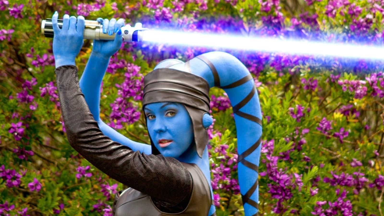 Aayla Secura cosplay star wars