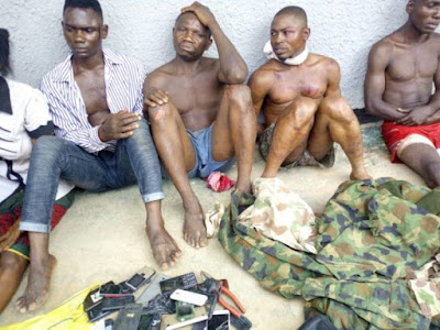 Armed Robbers Caught During Operation On Lokoja-Okene Highway