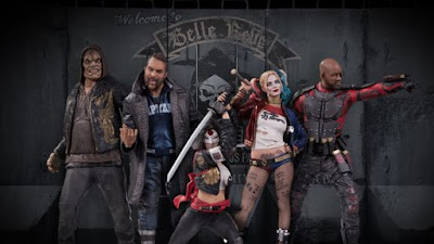 Suicide Squad Movie Statue Series by DC Comics & DC Collectibles