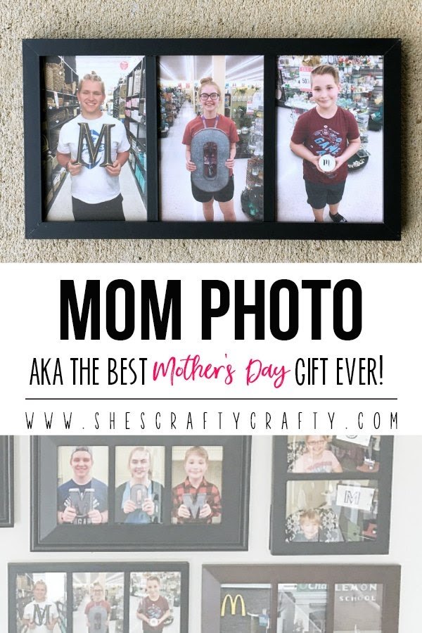 Mom Photo - aka the best Mother's Day Gift ever!