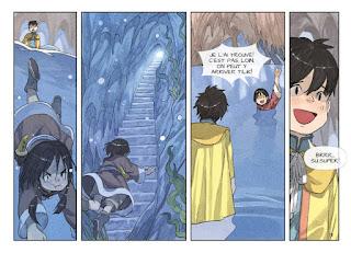 Kushi tome 4 - La fille du vent - Kushi et Tilik vont nager pour sortir