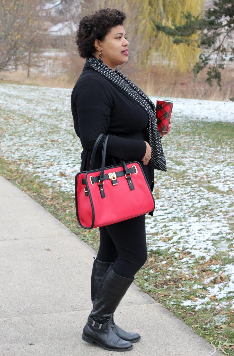 a woman wearing Festive Accessories