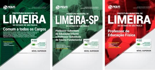 Apostila Concurso Prefeitura de Limeira 2017