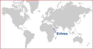 Gambar Peta letak Eritrea