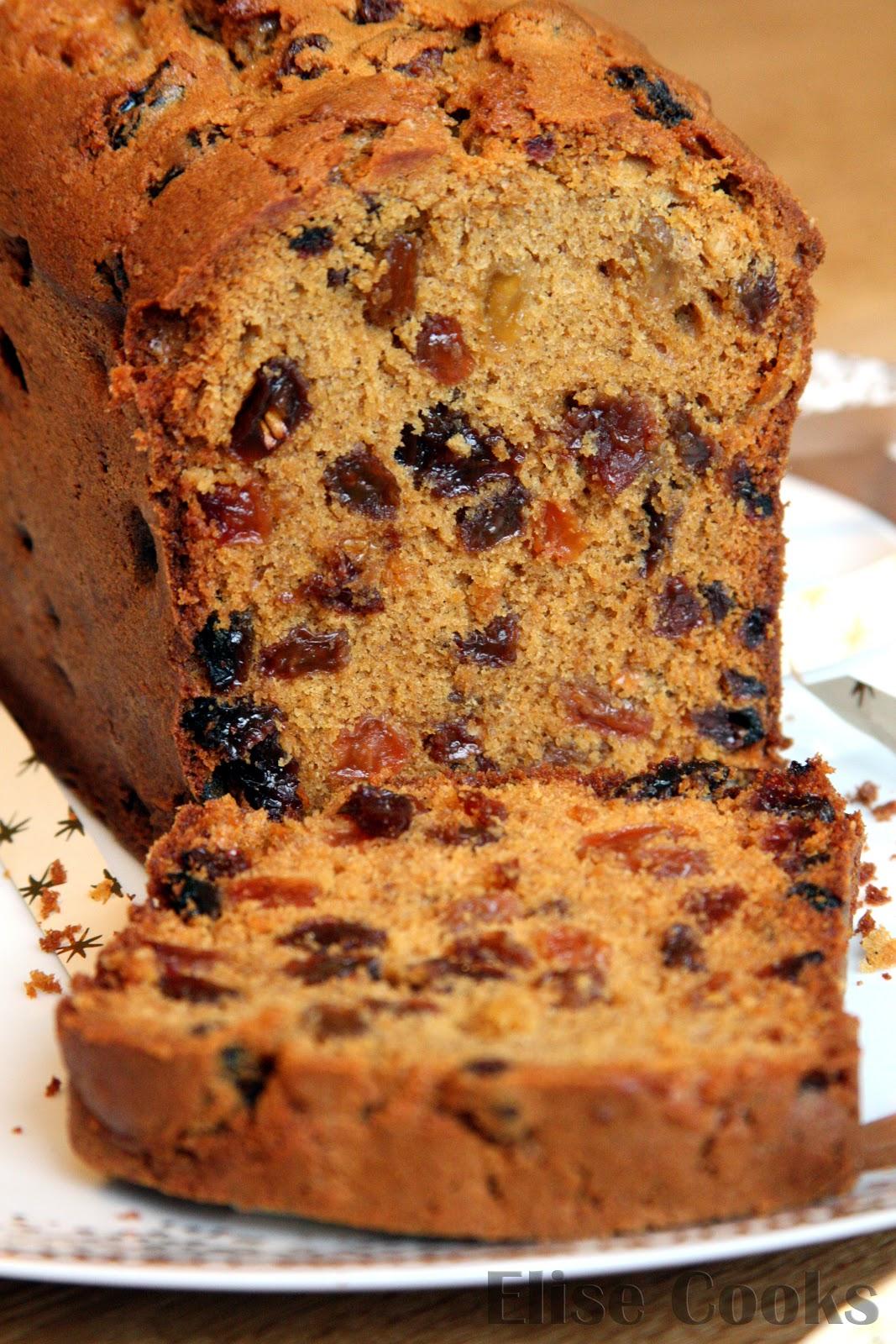 cake de no l aux pices et raisins secs elise cooks. Black Bedroom Furniture Sets. Home Design Ideas