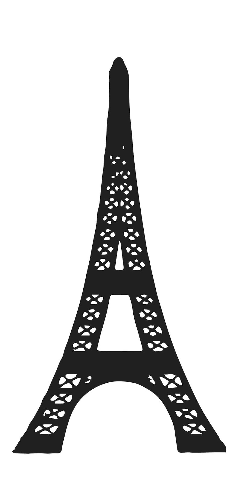 Gonna stuff a chicken project gingerbread eiffel tower for Eiffel tower model template