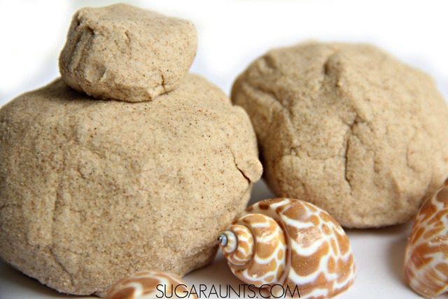 how to make kinetic sand without sand