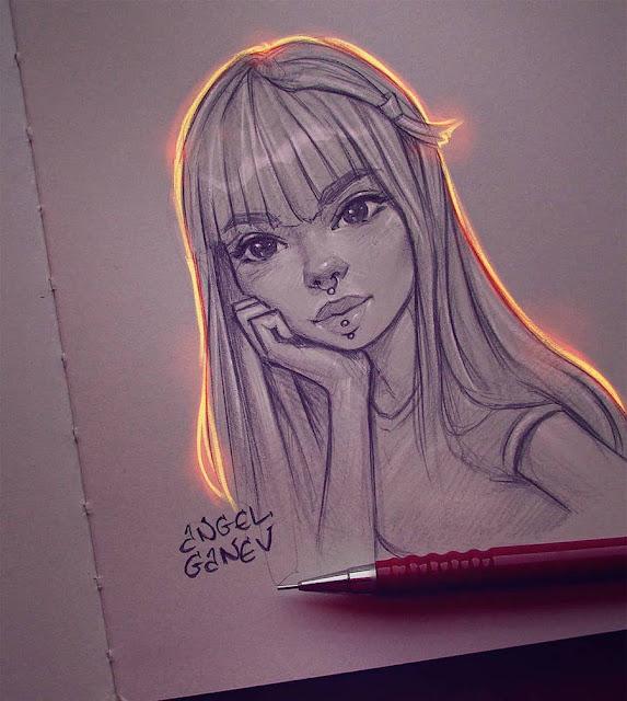 hermosas-ilustraciones-con-efectos-de-luz-angel-ganev