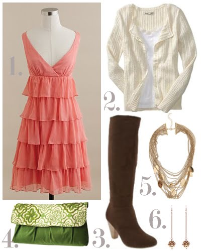 Guest Post} Fall Wedding Guest Fashion - Oh Lovely Day | Chandra