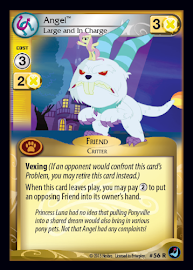 My Little Pony Angel, Large and in Charge High Magic CCG Card