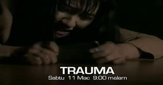 Cerekarama Trauma lakonan Janna Nick & Saharul Ridzwan