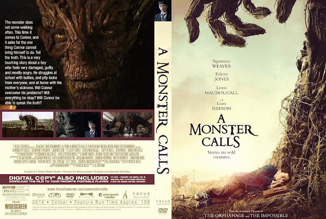 Capa DVD A Monster Calls