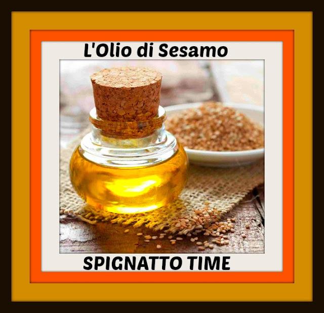 spignatto, l'olio di sesamo, oli vegetali in cosmesi, usi cosmetici dell'olio di sesamo