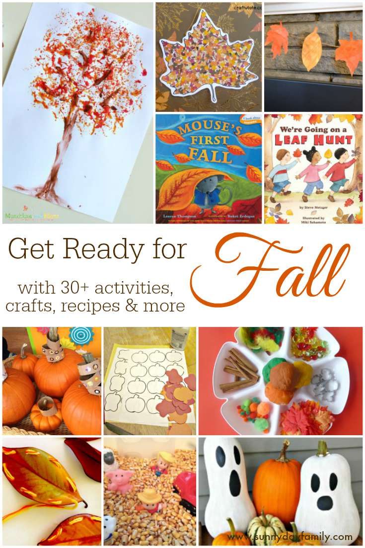 Everything you need for Fall in one collection! Kids activities & crafts, books, recipes, and home & garden DIY ideas.