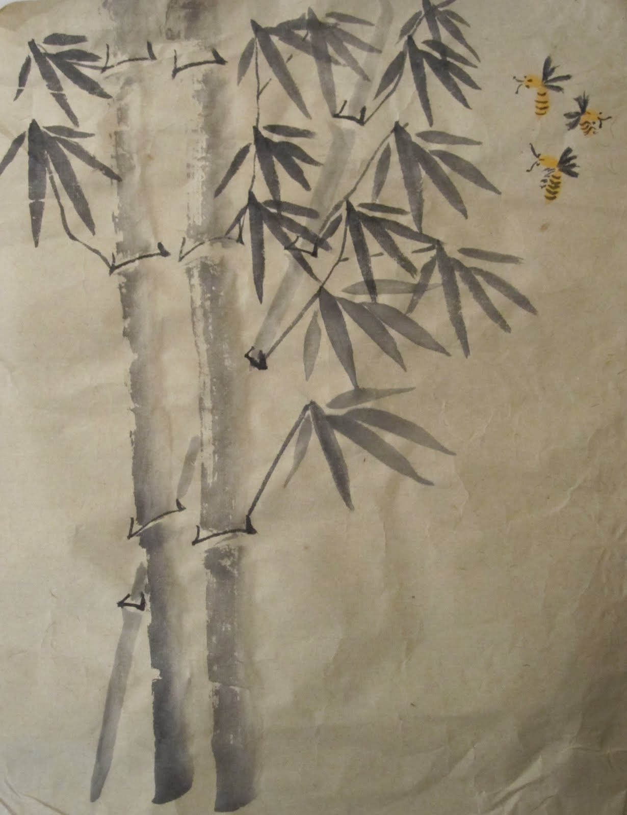 chinese brush painting sample paintings