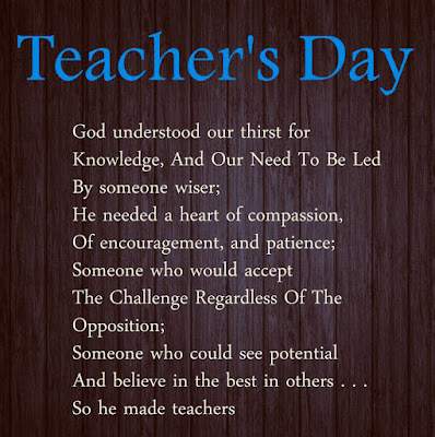 Teachers Day Poems