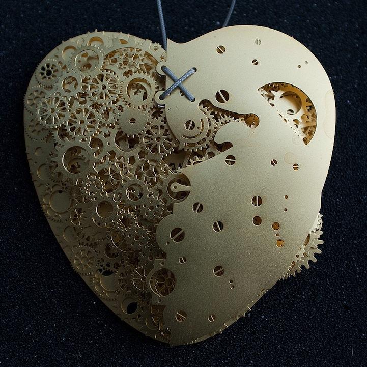 Сердце из бумаги Франка Тьепкема 7