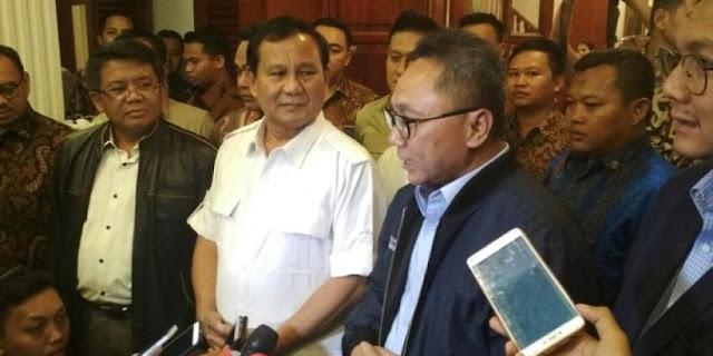 Hari Ini, Pimpinan Tiga Parpol Kumpul di Rumah Prabowo