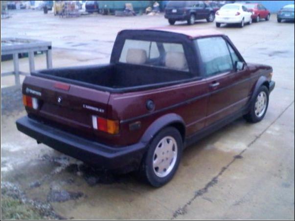 Club Dirty Auto: Craigslist Finds: Custom VW Cabriolet