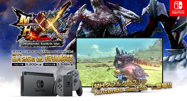 Capcom nos enseña la edición limitada de Monster Hunter XX para Nintendo Switch