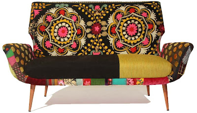 uzbek suzanis furniture, uzbekistan 2013 art craft