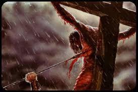 Resultado de imagem para a lança em jesus crucificado
