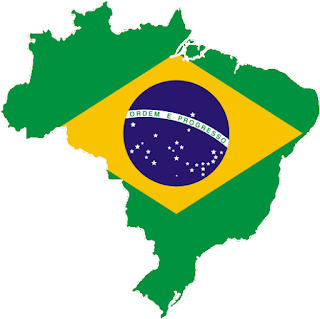 Mapa do Brasil com a Bandeira Nacional - Brazil Regulators Move to Block Bitcoin Mining Investments