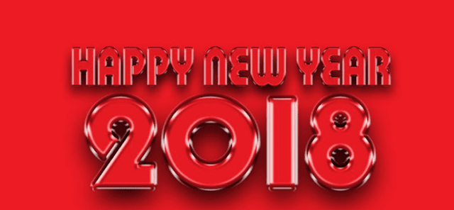 Happy New year 2018 Photos